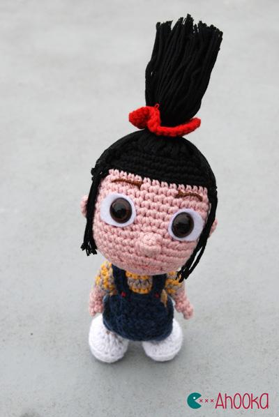 Agnes Amigurumi by Ahooka