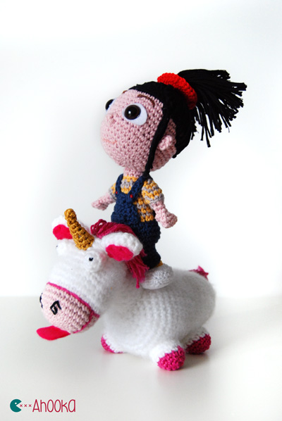 Agnes (despicable me) free crochet amigurumi pattern – reviewed and ...