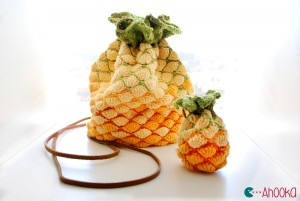Pineapple crochet bag by Ahooka