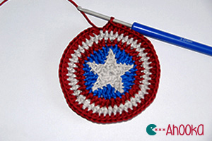 How to   make a star fit into a circle – crochet tutorial with ... 4f8919ae71a