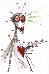 Voodoo girl by Tim Burton