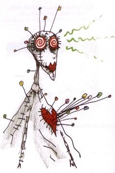 Tim Burton S Voodoo Girl Crochet Amigurumi Ahookamigurumi