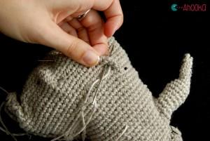 amigurumi wrinkles tutorial by ahooka