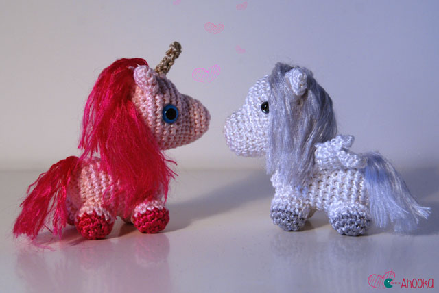 Amigurumi for Beginners Small unicorn tutorial Amigurumi ... | 428x640