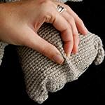 crochet wrinkles