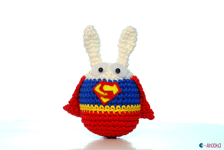 Superhero bunnies by ahooka