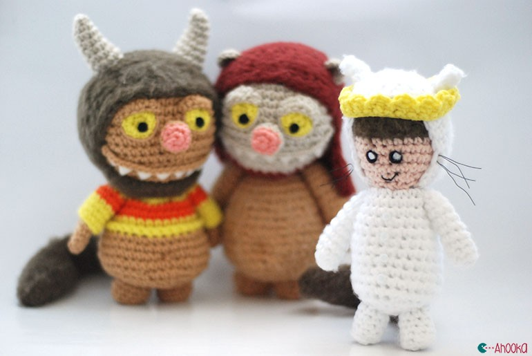Amigurumi Crochet Pattern : Where the wild things are amigurumi : max free crochet pattern