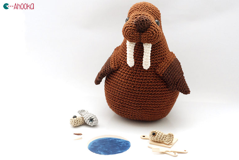 I am the Walrus ! Goo Goo G joob ! [crochet amigurumi ...