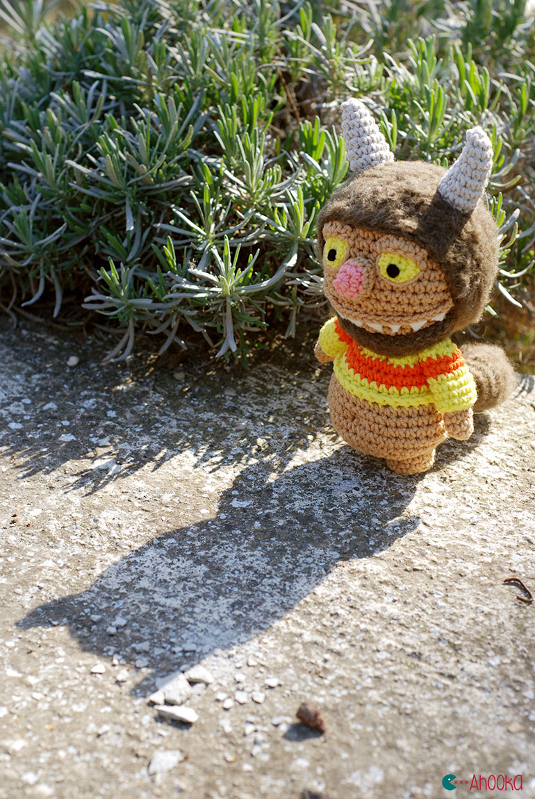 where the wild things are amigurumi by ahooka