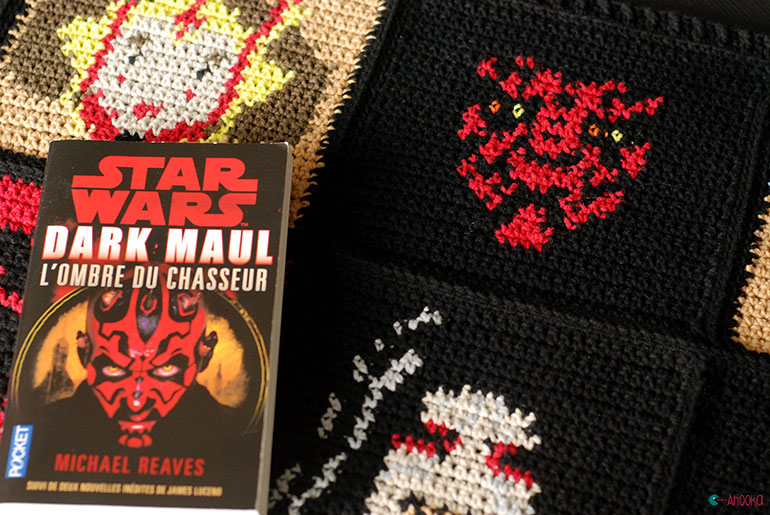 star wars crochet blanket by ahooka