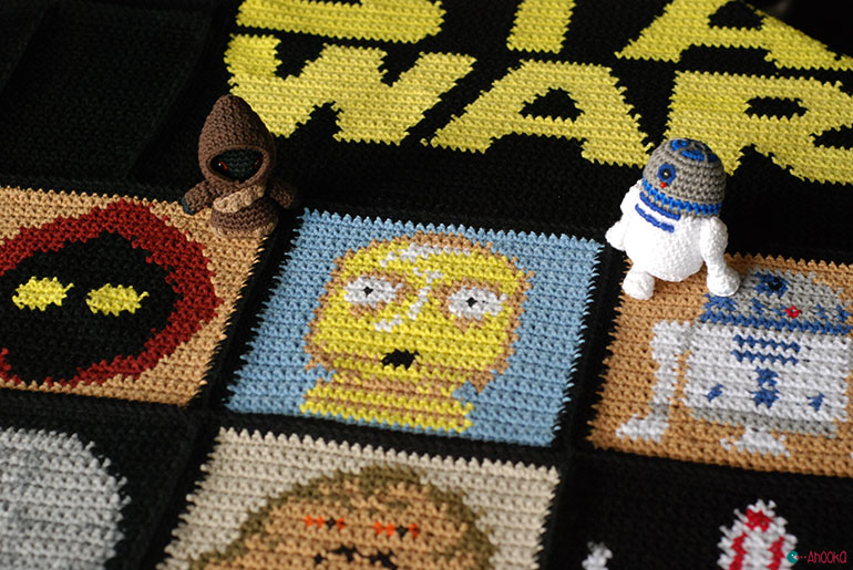 Free Crochet Pattern Star Wars : May the 4th?Be with me and my crochet hook ! A Star Wars ...
