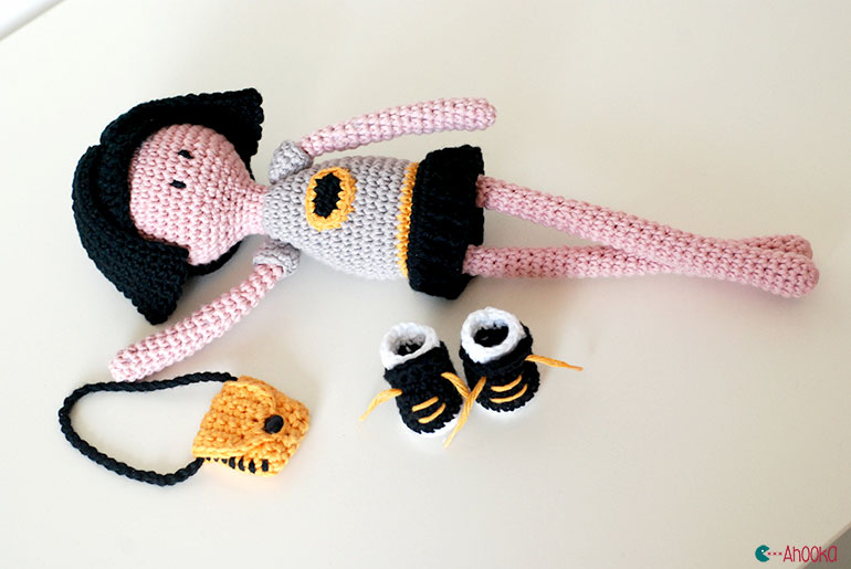 Bat Namdoll crochet pattern by ahooka