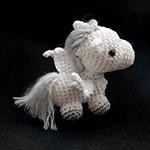Pegase crochet amigurumi par Ahooka
