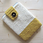 Etui a tablette en crochet tuto video par ahooka