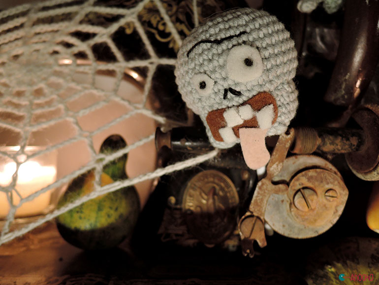crochet halloween by ahooka