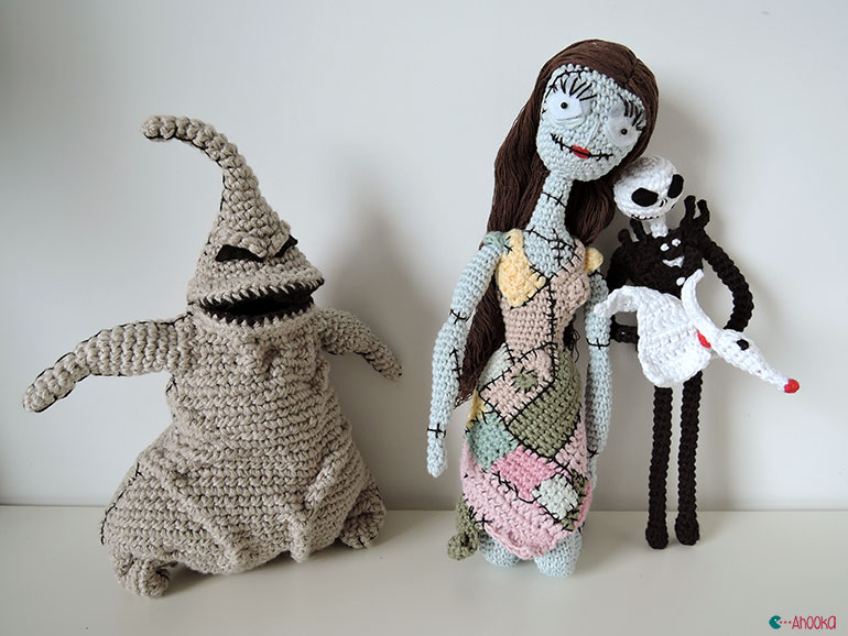 Halloween Ghosts: Crochet Pattern Roundup! - AmVaBe Crochet | 578x770
