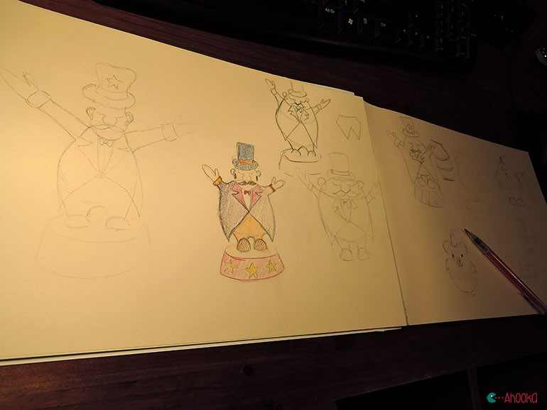 circus amigurumi pattern by ahooka