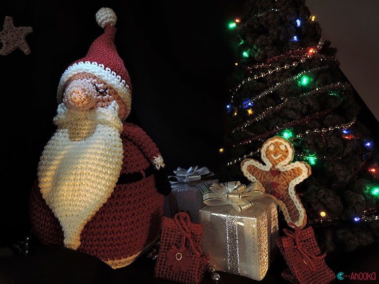 christmas crochet decoration by ahooka14