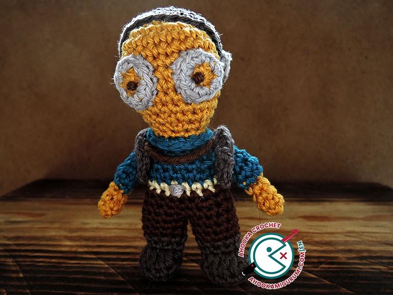 Maz Kanata amigurumi - crochet pattern by ahooka
