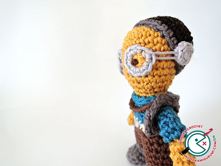 Amigurumi Snowman Pattern : Maz Kanata amigurumi? One more Star Wars crochet pattern ...