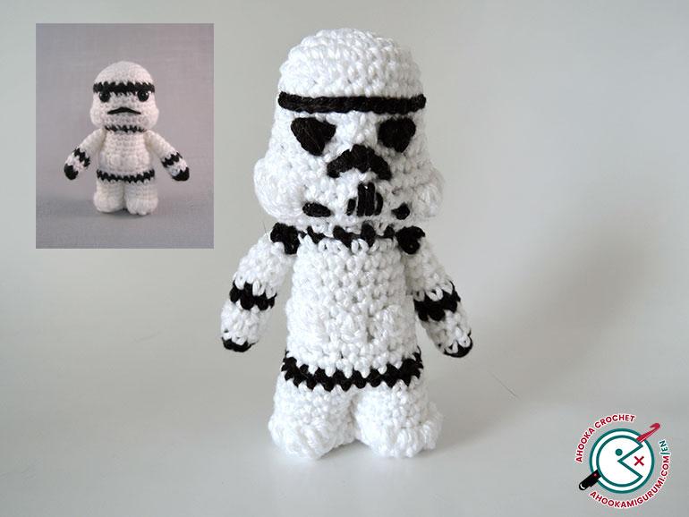 10+ Star Wars Yoda Crochet Patterns | 578x770