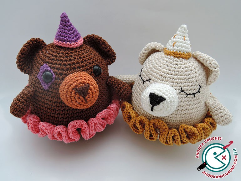 barry and paula bears crochet pattern by ahooka