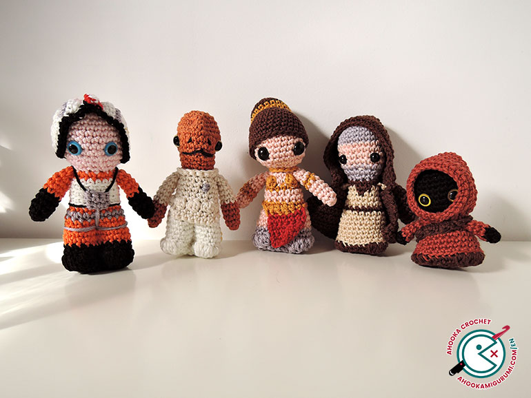 star wars crochet part3 by ahooka