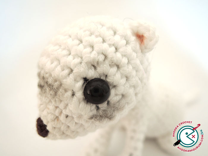 ferret amigurumi pattern