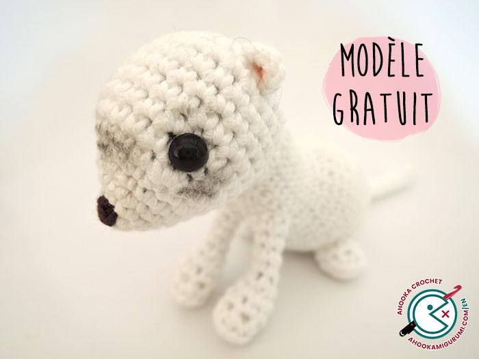 free ferret amigurumi pattern