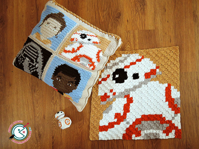 C2C crochet tutorial by ahooka