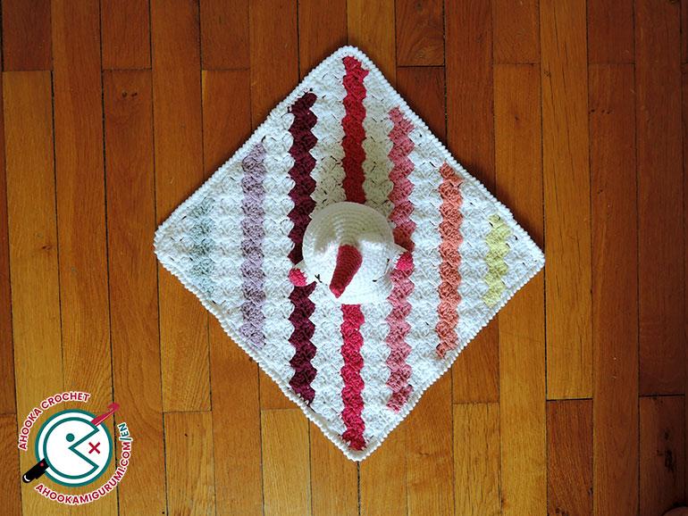 unicorn lovey pattern by ahooka 05